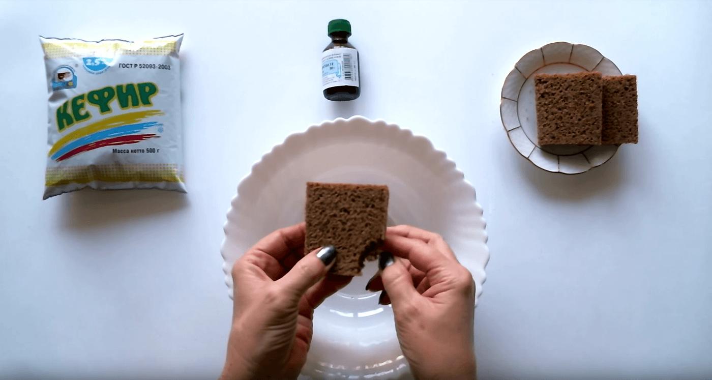 Маски для тонких волос из черного хлеба