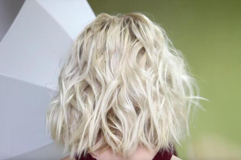 Волны на волосах