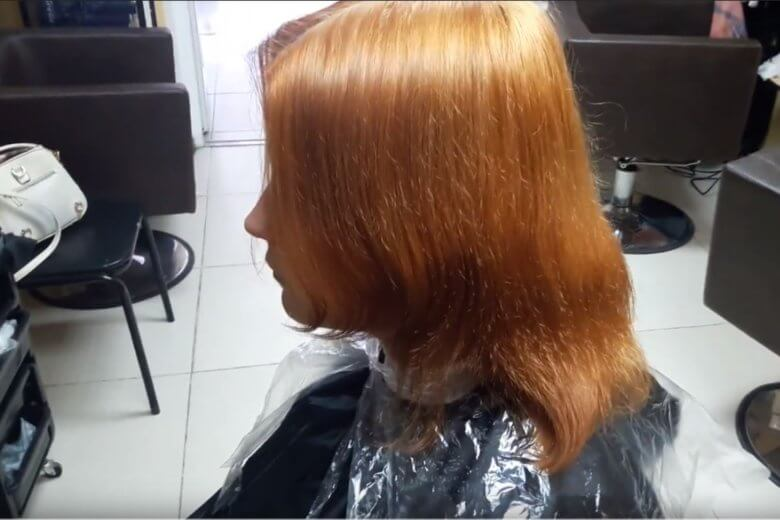 Окрашивание волос зима