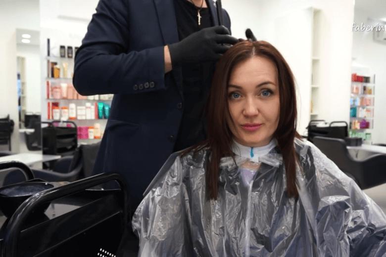 Окрашивание для полных волос