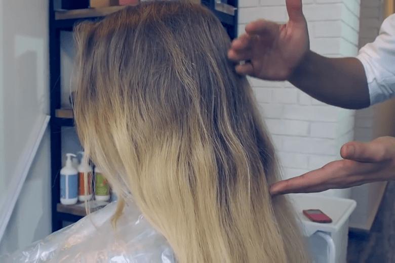 Исправить окрашивание волос